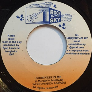 Winston Reedy & Skycru : Goodness In Me | Single / 7inch / 45T  |  UK