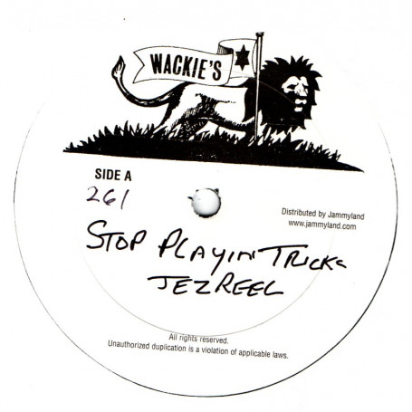 Jezreel : Stop Playing Tricks | Maxi / 10inch / 12inch  |  Oldies / Classics