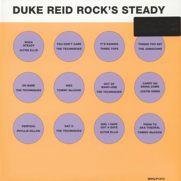 Various : Duke Reid Rock's Steady | LP / 33T  |  Oldies / Classics