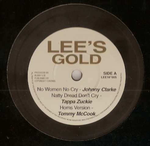 Johnny Clarke : No Woman No Cry | Maxi / 10inch / 12inch  |  Oldies / Classics