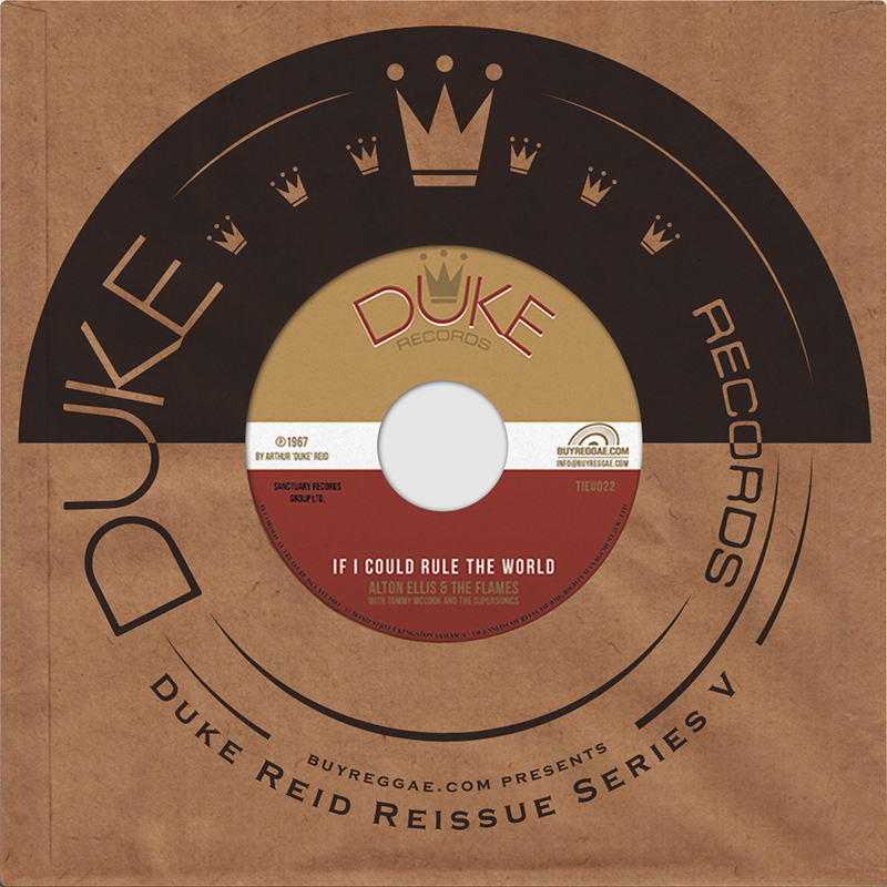 Alton Ellis : If I Could Rule The World | Single / 7inch / 45T  |  Oldies / Classics