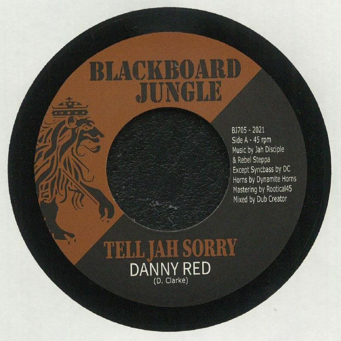Danny Red : Tell Jah Sorry | Single / 7inch / 45T  |  UK