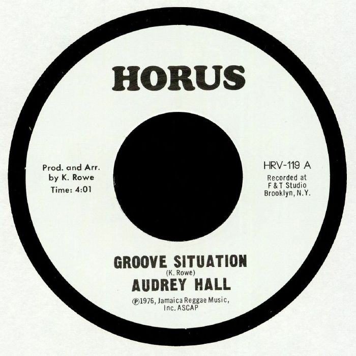 Audrey Hall : Groove Situation | Single / 7inch / 45T  |  UK