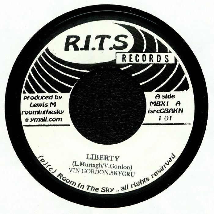 Vin GORDON & SALUTE : Liberty | Single / 7inch / 45T  |  UK