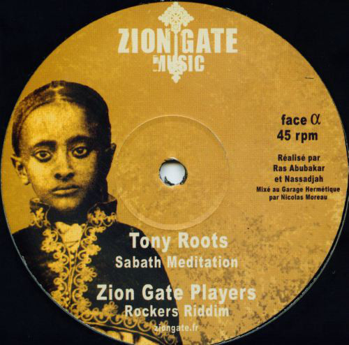Tony Roots : Sabath Meditation | Maxi / 10inch / 12inch  |  UK