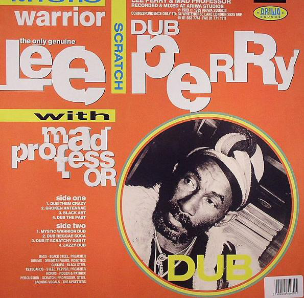 Lee Scratch Perry With Mad Professor : Mystic Warrior In Dub | LP / 33T  |  UK
