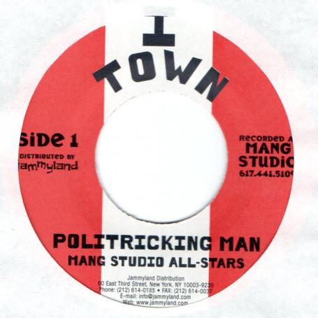 Mang Studio All Stars : Politricking Man ( Red ) | Single / 7inch / 45T  |  FR