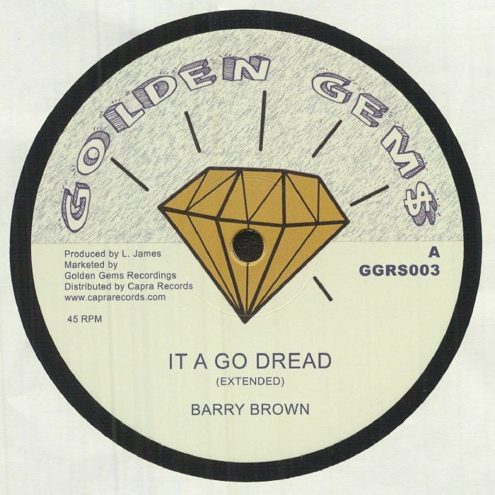 Barry Brown : It A Go Dread ( Extended ) | Maxi / 10inch / 12inch  |  Oldies / Classics